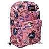 Спортивний рюкзак (Sport) з принтом (PARIS) 7 Кольорів Рожевий (41x27x11 cm.), фото 2