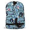Спортивний рюкзак (Sport) з принтом (PARIS) 7 Кольорів Синій (41x27x11 cm.), фото 2