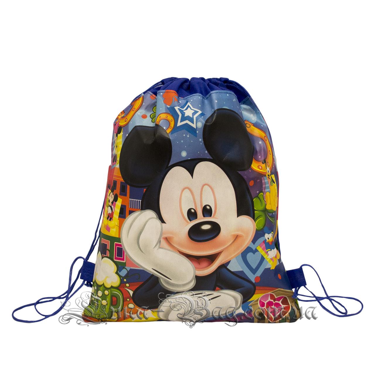 Детский рюкзак с рисунком (PAW Patrol) 3 Цвета Тёмно-Синий.В упаковке 12 шт