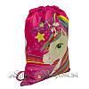 Дитячий рюкзак з малюнком (Rainbow Pony) Колір Рожевий/ В Упаковці 12 шт, фото 2