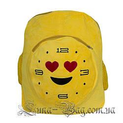 """Рюкзак Emoji Clock """"Love"""" 5 Малюнків (Розмір 40*31*10)"""