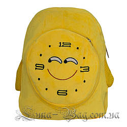 """Рюкзак Emoji Clock """"Smile"""" 5 Малюнків (Розмір 40*31*10)"""