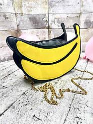 "Сумка Через Плече ""Banana"" (Розмір 12*23*10)"