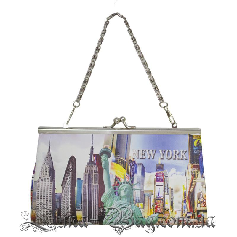 """Кошелек """"City Collage"""" 10 Рисунков (Размер 11*19,5*5) В Упаковке 12 шт"""