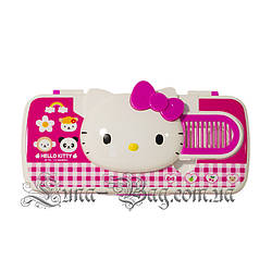 "Детский Пенал ""Hello Kitty"" 3 Цвета Малиновый (Размер 22*8,5*3)"