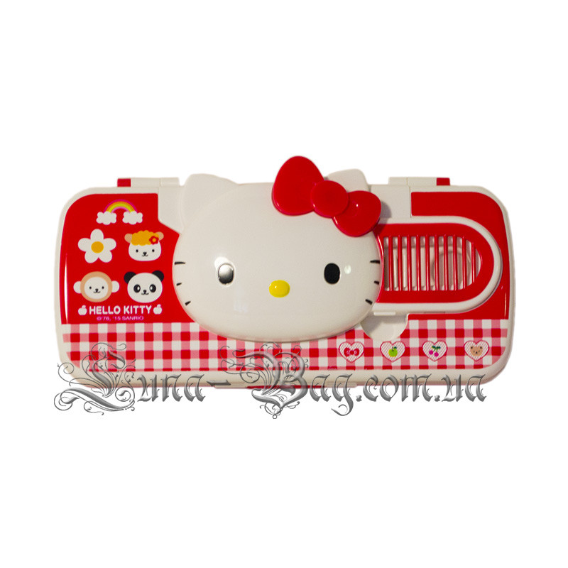 "Детский Пенал ""Hello Kitty"" 3 Цвета Красный (Размер 22*8,5*3)"