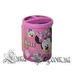 """Органайзер для ручок """"Mickey"""" 2 Кольори Рожевий (Розмір 10.5*7.5*10)"""