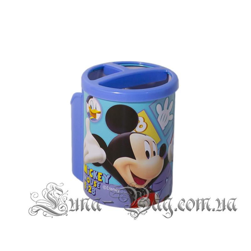 """Органайзер для ручок """"Mickey"""" 2 Кольори Блакитний (Розмір 10.5*7.5*10)"""