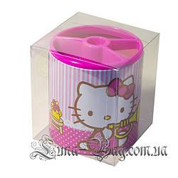 """Органайзер для ручок """"Hello Kitty"""" 2 Кольори Рожевий (Розмір 11*10)"""