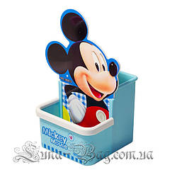 """Органайзер для ручек """"Mickey"""" 2 Цвета Голубой (Размер 17*8.5*8.5)"""