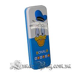 """Пенал Детский """"Mickey Heroes"""" 3 Рисунка Donald (Размер 21*8*2,5)"""