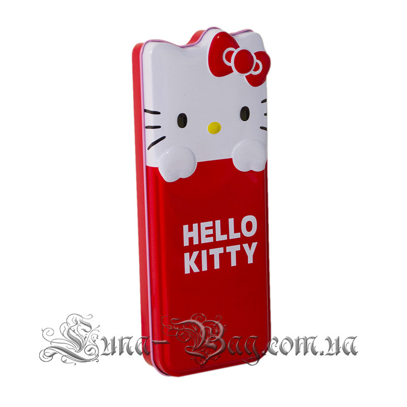 "Детский Пенал ""Hello Kitty"" 2 Цвета Красный (Размер 22*8.5*3)"