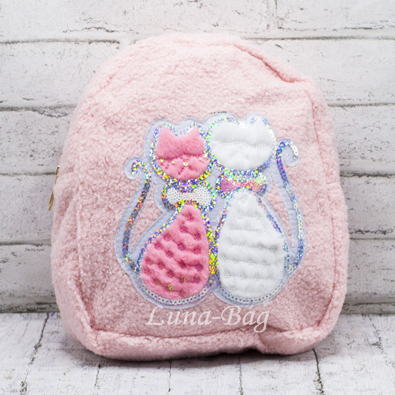 Рюкзак Жіночий 3 Кольори Рожевий