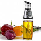 ОПТ Пляшка-дозатор з розпилювачем для олії та оцту скляна 500 мл, фото 4