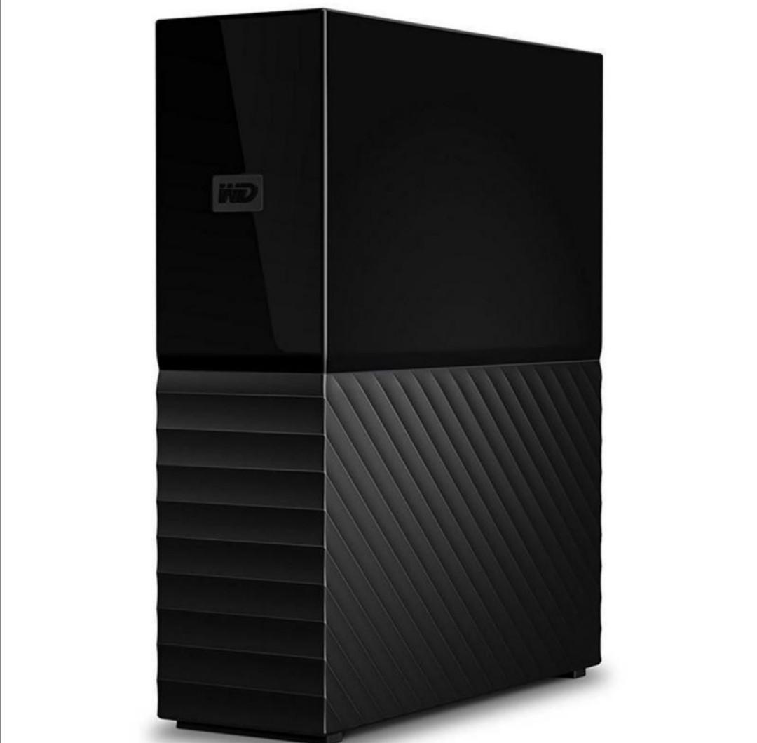 """Накопичувач зовнішній HDD 3.5"""" USB 6.0 TB WD My Book Black (WDBBGB0060HBK-EESN)"""