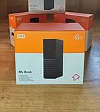 """Накопичувач зовнішній HDD 3.5"""" USB 6.0 TB WD My Book Black (WDBBGB0060HBK-EESN), фото 3"""