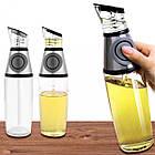 ОПТ Пляшка-дозатор з розпилювачем для олії та оцту скляна 500 мл, фото 5