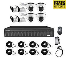 Комплект видеонаблюдения на 8 камер Longse AHD 4IN 4OUT 2 мегапикселя 100049, КОД: 1616420