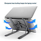 ОПТ Регулируемая складная подставка для ноутбука Laptop Stand, подставка-держатель для планшета, фото 4