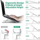 ОПТ Регульована складна підставка для ноутбука Laptop Stand, підставка-тримач для планшета, фото 8