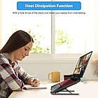 ОПТ Регульована складна підставка для ноутбука Laptop Stand, підставка-тримач для планшета, фото 5