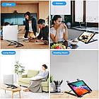 ОПТ Регульована складна підставка для ноутбука Laptop Stand, підставка-тримач для планшета, фото 6