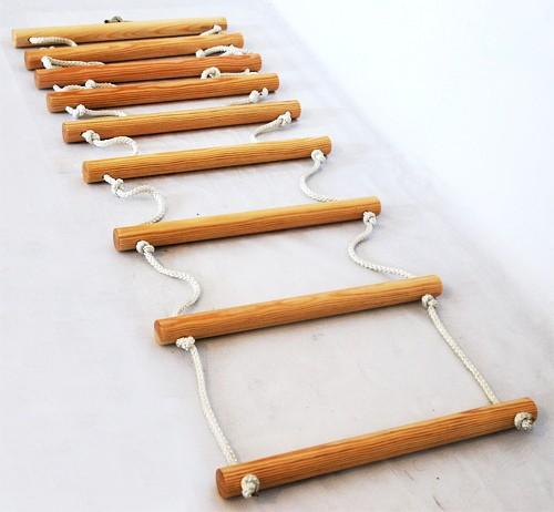 Веревочная лестница профессиональная (15 ступеней) - 5,00 мп