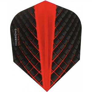 Оперение для дротиков дартс Quantum 6 штук red