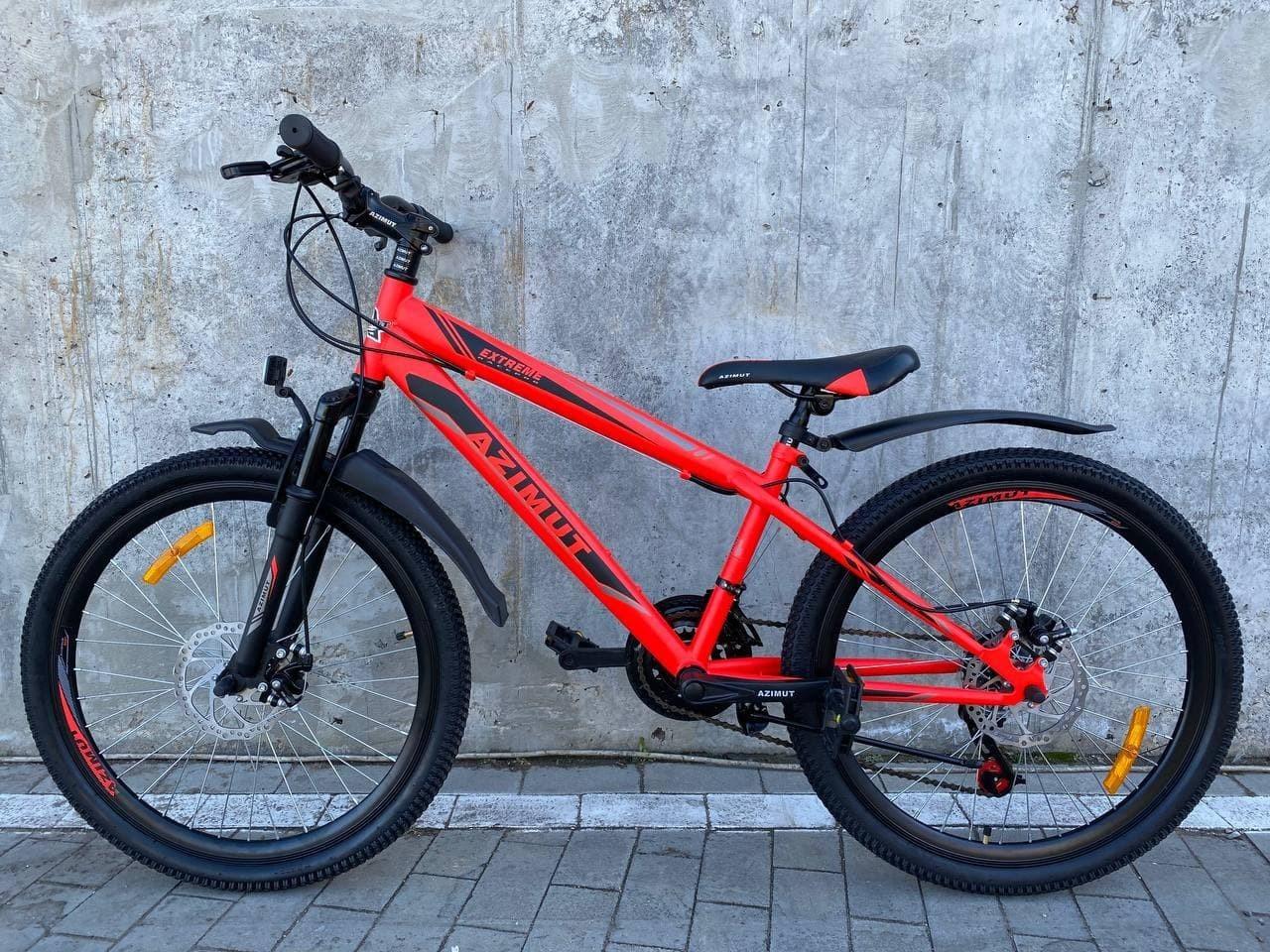 """Велосипед Azimut Extreme 26"""" красный"""