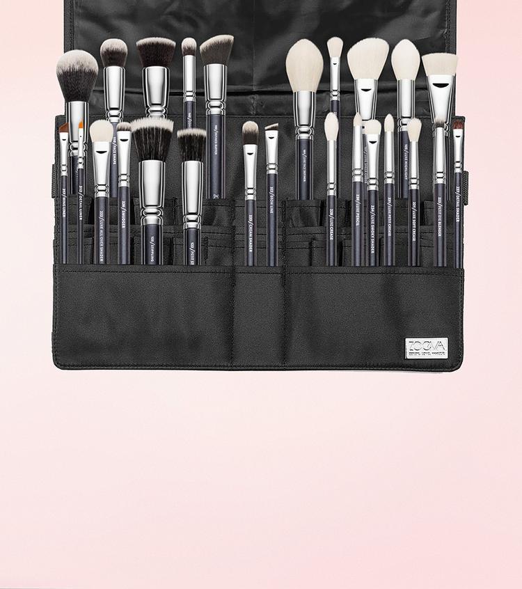 Пояс с кистями  Makeup Artist Brush Belt 25 шт