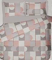 Комплект постільної білизни полуторний СКОУП ( нав. 70*70)