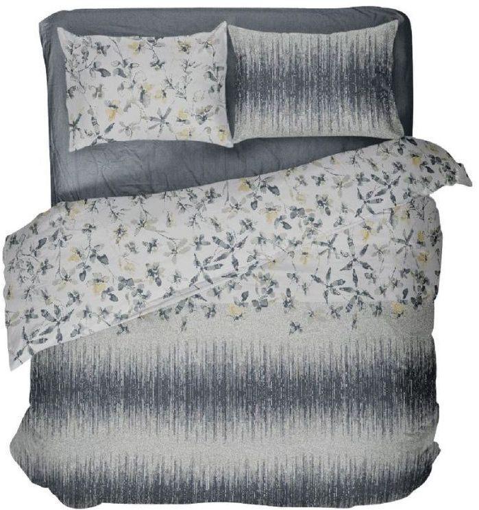 Комплект постельного белья двуспальный ФЛЕР ( нав. 70*70)