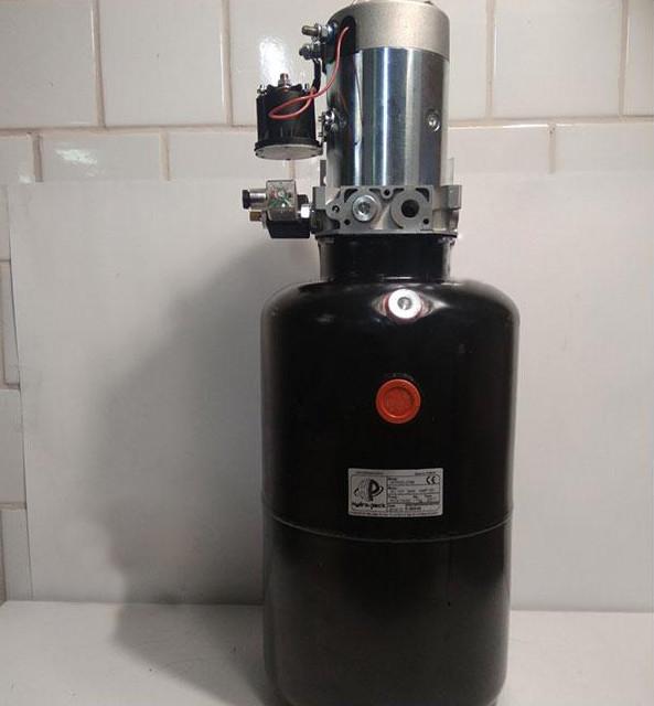 Поверпек 12V-2,0KW 3,7СМ³ (Электрогидравлика / PowerPack) 20 л (под подъем кузова)
