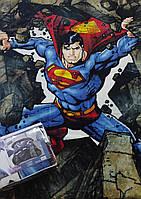 Плед мікрофібра 150*200 SUPERMAN STONE