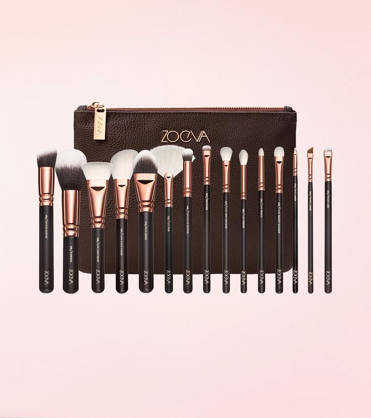 Набор кистей  для макияжа Zoeva  Rose Golden Complete Brush Set Vol. 1