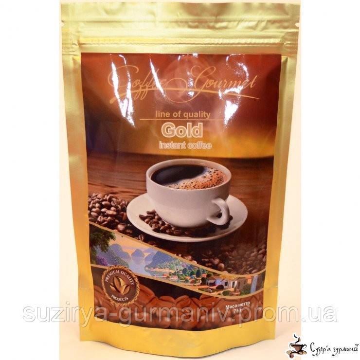Растворимый кофе Gourmet Голд м/у 250г, фото 1