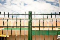 Забор из сварной сетки для ограждения выставок, фото 1