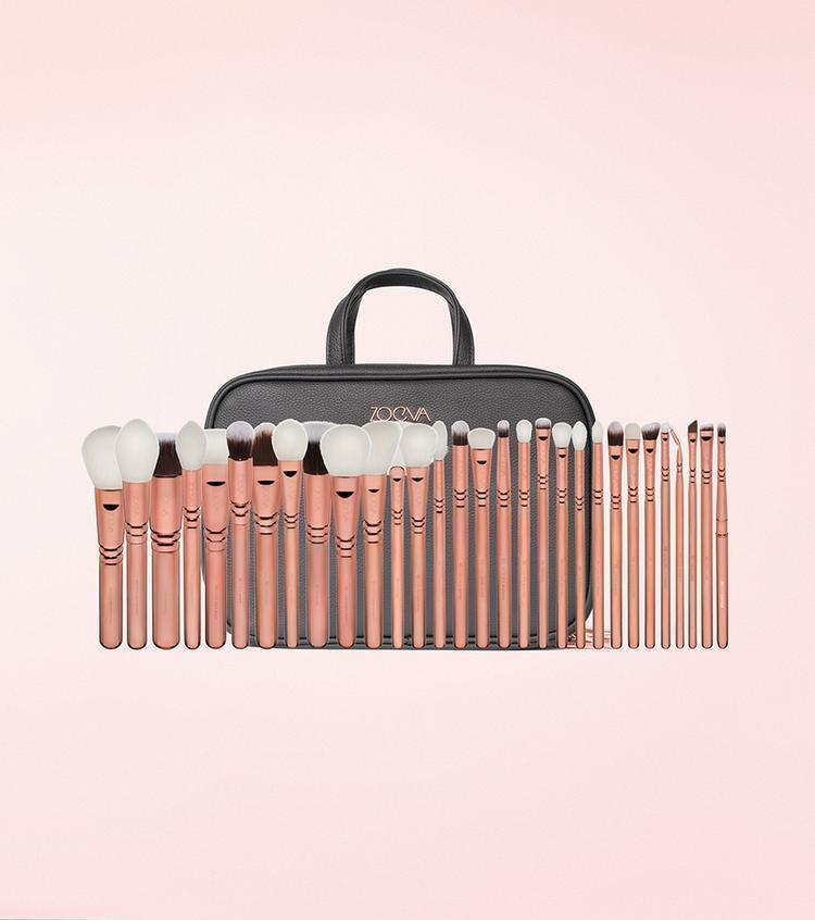 Набор кистей для макияжа Zoeva Makeup Artist Zoe Bag 1 +30 шт