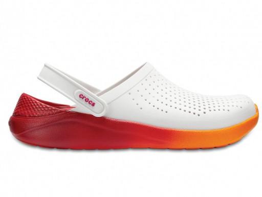 Кроксы сабо Унисекс LiteRideClogWhite/Orange M6-W8 38-39 23,8 см Оранжевый