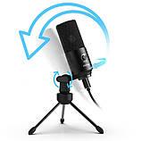 Студійний мікрофон Fifine K680 чорний, фото 3