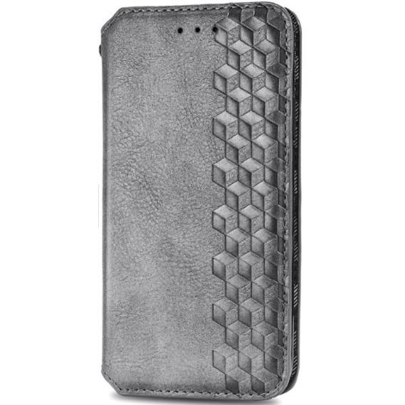 Шкіряний чохол книжка GETMAN Cubic (PU) для Huawei P40
