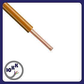 Провод ЮКкабель ПВ1 1,5 коричневый