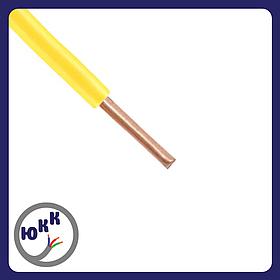 Провод ЮКкабель ПВ1 1,5 желтый