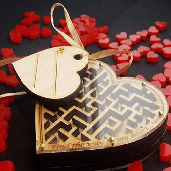 N-Maze Лабіринт Сердечко Головоломка Серце
