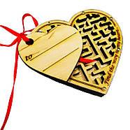 N-Maze Лабиринт Сердечко Головоломка Сердце, фото 2