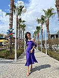 Сарафан миди женский льняной с рюшами (в расцветках), фото 6