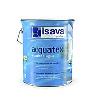 Матовая акриловая эмаль на водной основе Акватекс ISAVAL 4л, фото 1
