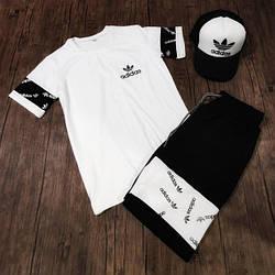 Чоловічі літні спортивні костюми/комплекти футболка+шорти