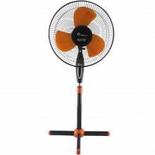 """Підлоговий вентилятор 16"""" Domotec FS-1619 40 Вт з нахилом і поворотом"""