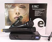 Радиосистема UKC EW-500 + 2 микрофона